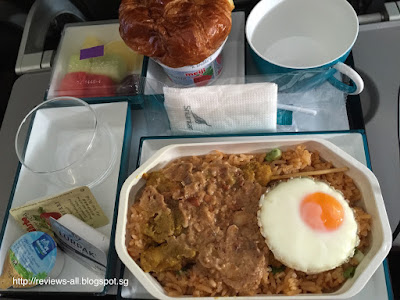 SriLankan Airlines On Board Food Blog Review