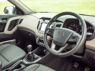 Hyundai Creta 1st Anniversary Edition stearing wheel Hd Images