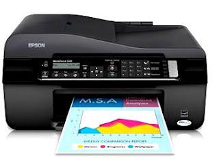 Printer Epson WorkForce 520 Driver Download