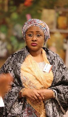 Aisha Buhari at the African Women's forum in Crans Montana