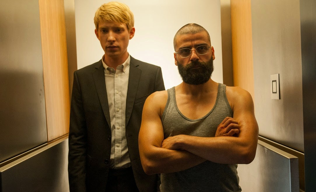 From Left to Right: Domhnall Gleeson and Oscar Isaac