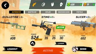 senjata terbaik di guns of boom