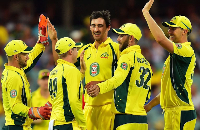 Australia Squad for Champions Trophy 2017