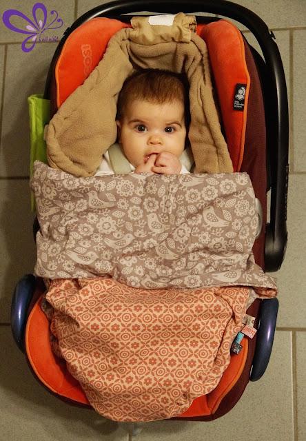 Kuschelige Babydecke schnell genäht