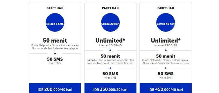 tarif-harga-paket-haji-xl