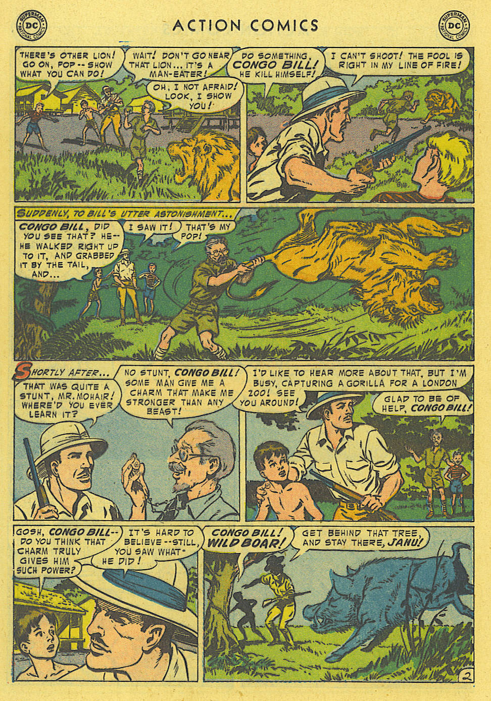 Read online Action Comics (1938) comic -  Issue #194 - 15
