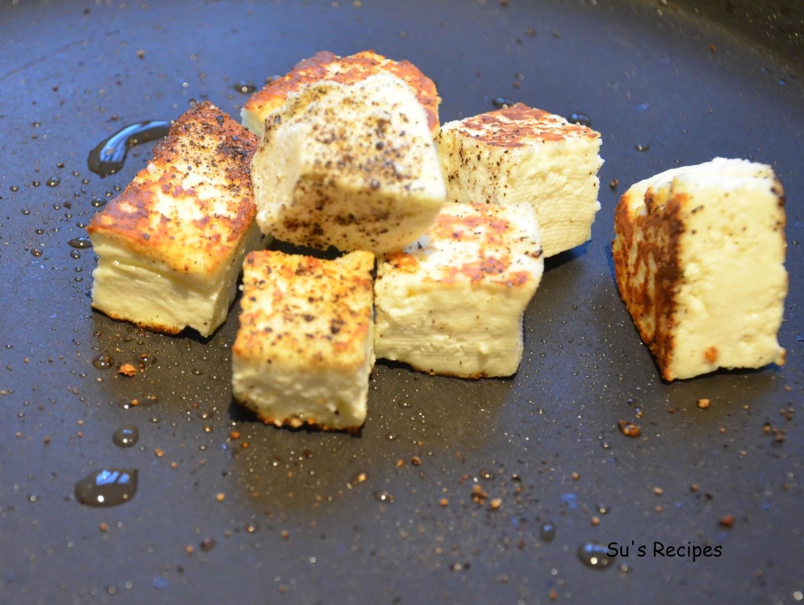 Su 39 S Recipes Paneer Homemade Cottage Cheese