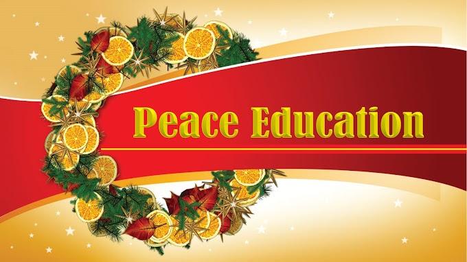 Peace Education: Menebarkan Kedamaian di Dunia Maya