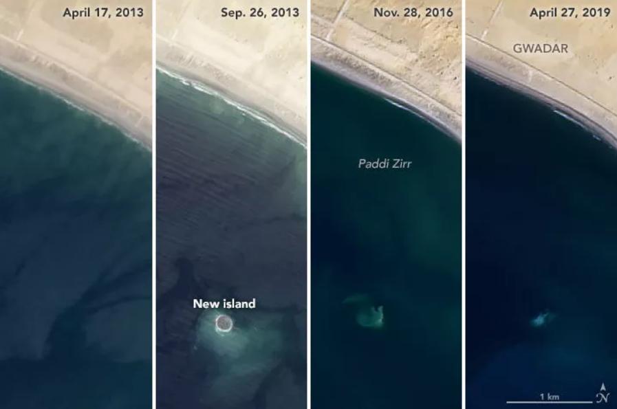 Isola Zalzala > Isola vulcanica scompare nell'Oceano in sei anni.