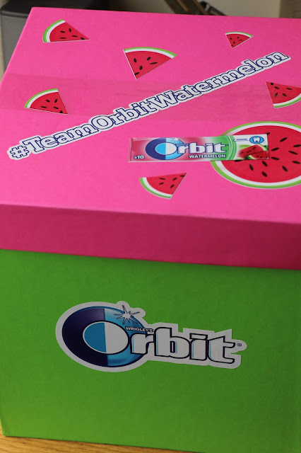 New Tantalising Flavours From @OrbitGumSA #TeamOrbitWatermelon #TeamOrbitBubblegum