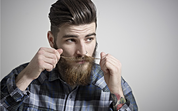 How To Grow And Trim A Handlebar Moustache In 4 Simple Steps