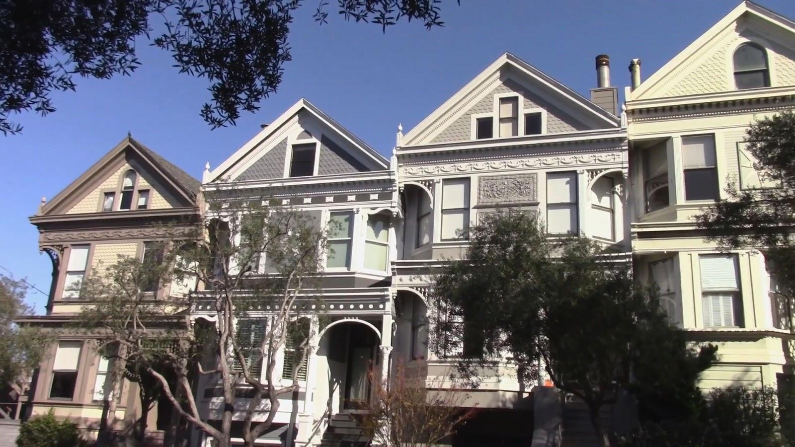 Maisons victoriennes sur Hyde Street, San Francisco