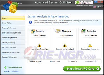 Advanced System Optimizer 3.9.3636.16880 Full Version