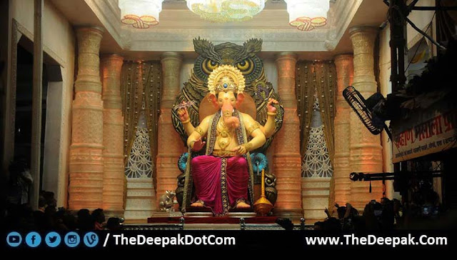 First Look of Lalbaugcha Raja 2016