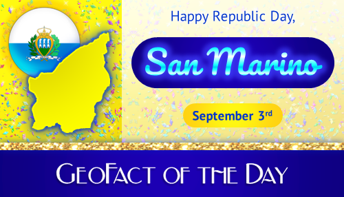 Happy Independence Day, Sammarinese people!