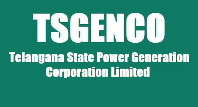 TS GENCO posts,TS GENCO Recruitment,TS GENCO results