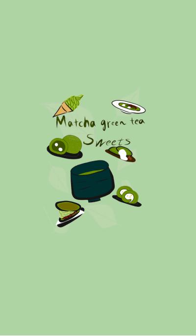 Love Green tea Sweets