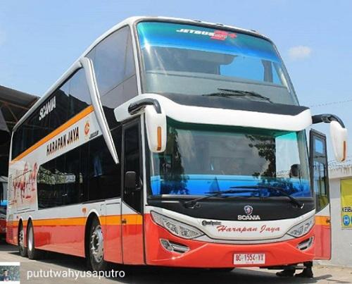 Jadwal bus di Indonesia