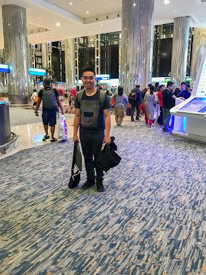 Me at Emirates Terminal