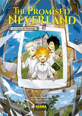 """Literatura: Review de la novela  """"The Promised Neverland: La carta de Norman"""" de Nanao, Kaiu Shirai y Posuka Demizu - Norm editorial"""