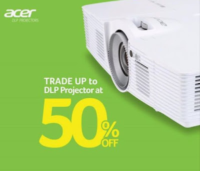 Acer Announces Trade Up Promo, Get A DLP Projector At 50% Off