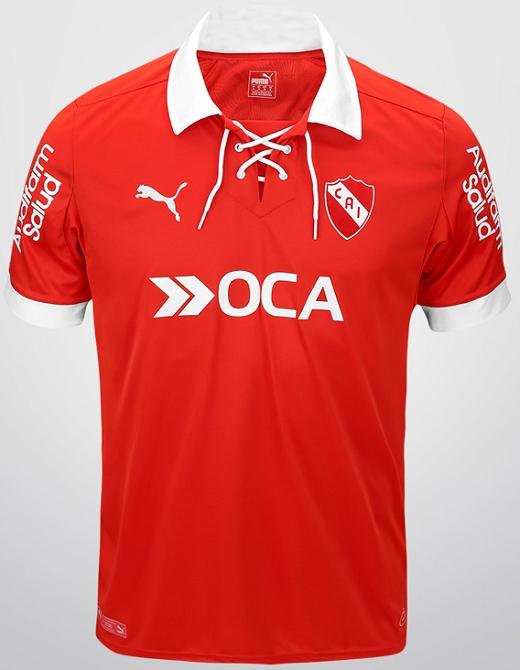 3d4966ab01ee1 Puma cria camisa retrô para o Independiente da Argentina - Show de ...