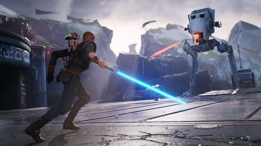 star wars jedi fallen order lightsaber uhdpaper.com 4K 21