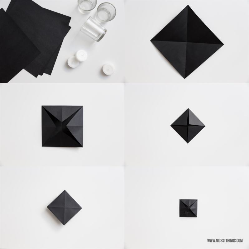 Origami Lotus Lotusblüte DIY Faltanleitung #origami #lotusblüte
