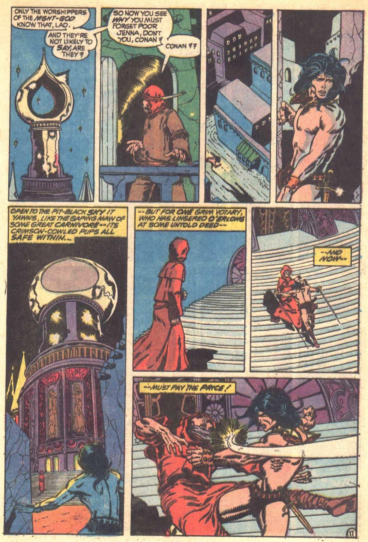 Conan the Barbarian (1970) Issue #6 #18 - English 12