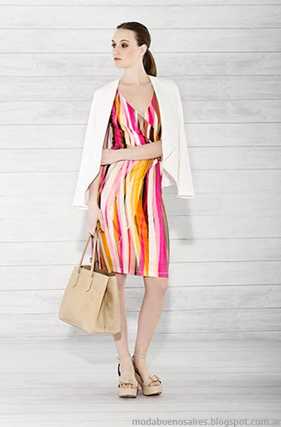Carmela Achaval verano 2015. Moda ropa de mujer verano 2015 vestidos. Moda 2015.
