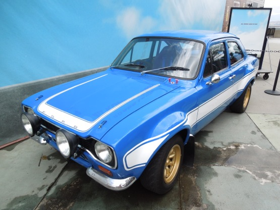 Fast Furious 6 1970 Ford Escort