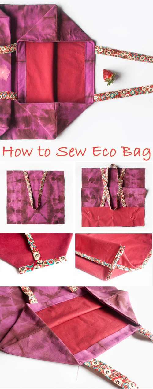 How to Sew a Beautiful Eco Bag with Lining