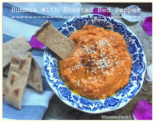 Hummus With Roasted Red Pepper
