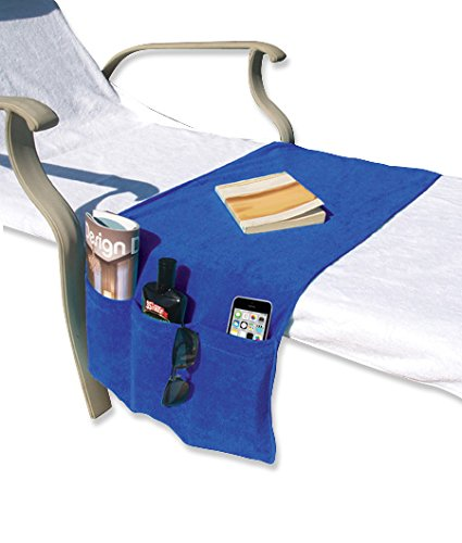 chaise lounge covers with organizer