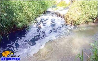 Hóa chất khử màu nhiều loại nước thải dệt nhuộm – Nước thải dệt nhuộm rất phức tạp và đa dạng