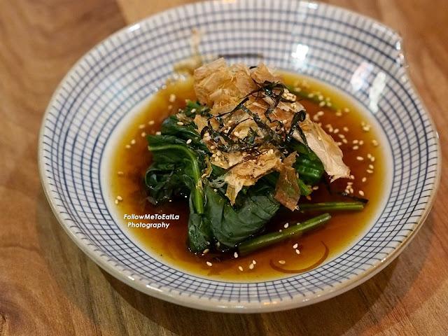 Spinach Dashi RM 7
