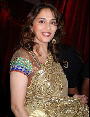 Madhuri Dixit in saree