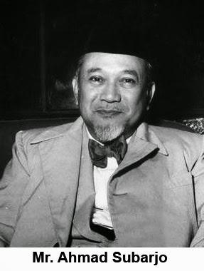 Mr. Ahmad Subarjo