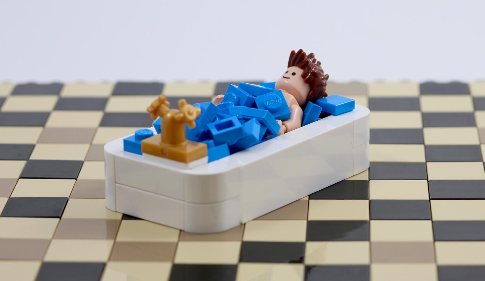 Zabawki konstrukcyjne LEGO LEGO 99781 BRACKET 1x2-1x2 MEDIUM STONE GREY QTY x 15 BRAND NEW PARTS