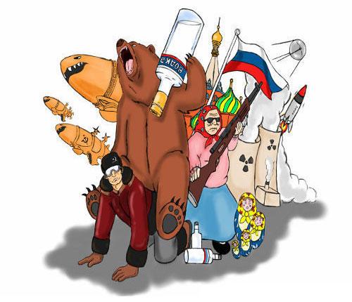 Memes de rusos, recopilación