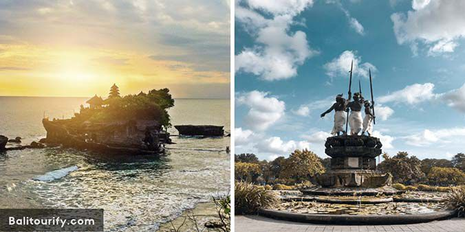 Bali Denpasar City and Tanah Lot Temple Tour, Bali Half Day Tours