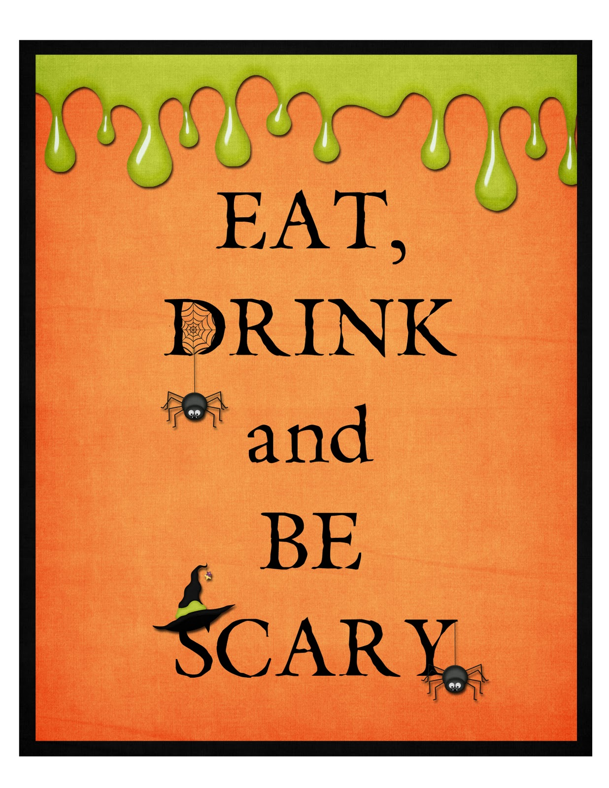 Flipchick Designs Free Halloween Printable