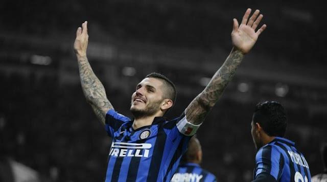 Rumor transfer sepak bola: Mauro Icardi ke Arsenal dari Inter?