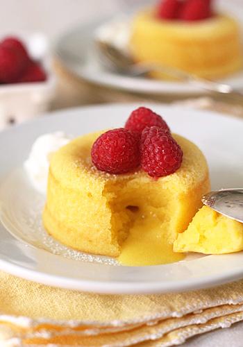 Meyer Lemon Molten Cakes