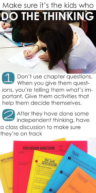 Strategies for critical thinking about text