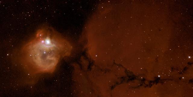 Emission Nebula N83B