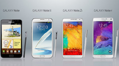 Gambar HP Samsung Galaxy Note Series