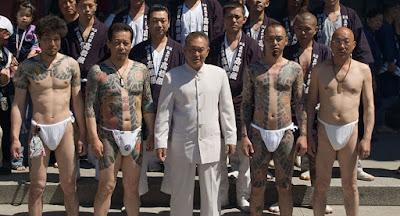 Miembros de la Yakuza Japón