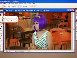 Cara Memotong Foto (Masking) Menggunakan Lasso Tool di Photoshop