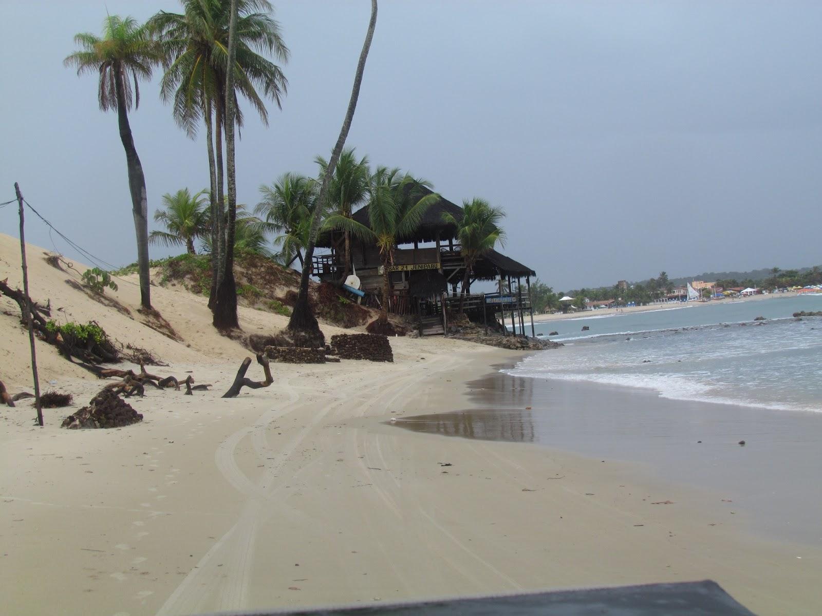 Bar a beira do mar em Genipabú-RN